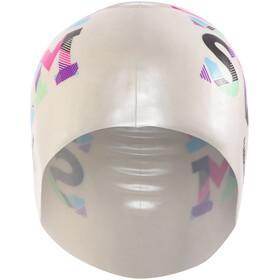 Funkita Silicone - Bonnet de bain - blanc/Multicolore